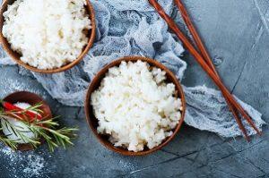 jedzenie z ryżem